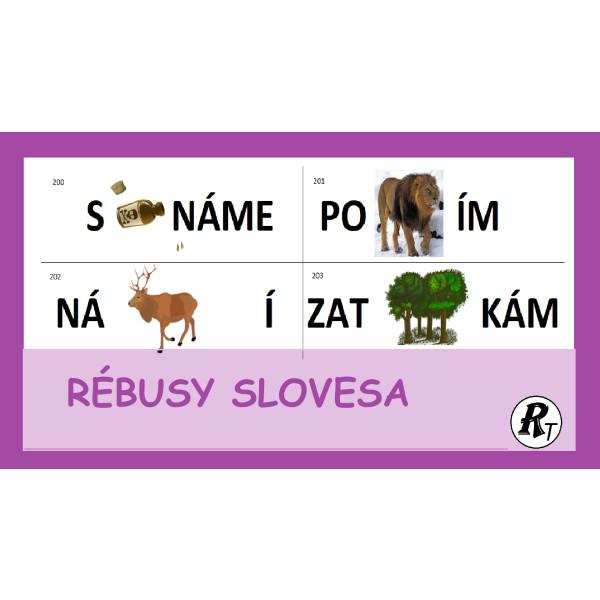 Rébusy - slovesa